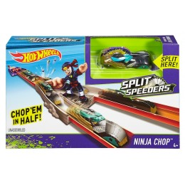 "HOT WHEELS trasa ""Nindzės ataka"" automodeliams Split Speeders"