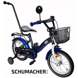 "SCHUMACHER KID SMART 14"" dviratukas"