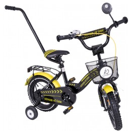 "12"" Dviratukas T BIKE exclusive su  rankena"