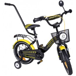 """14""Dviratis T BIKE exclusive su  rankena"