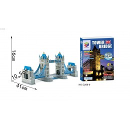 NAKKO 3D dėlionė TOWER BRIDGE